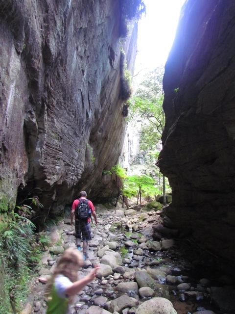 Warrumbah Gorge at Carnarvon