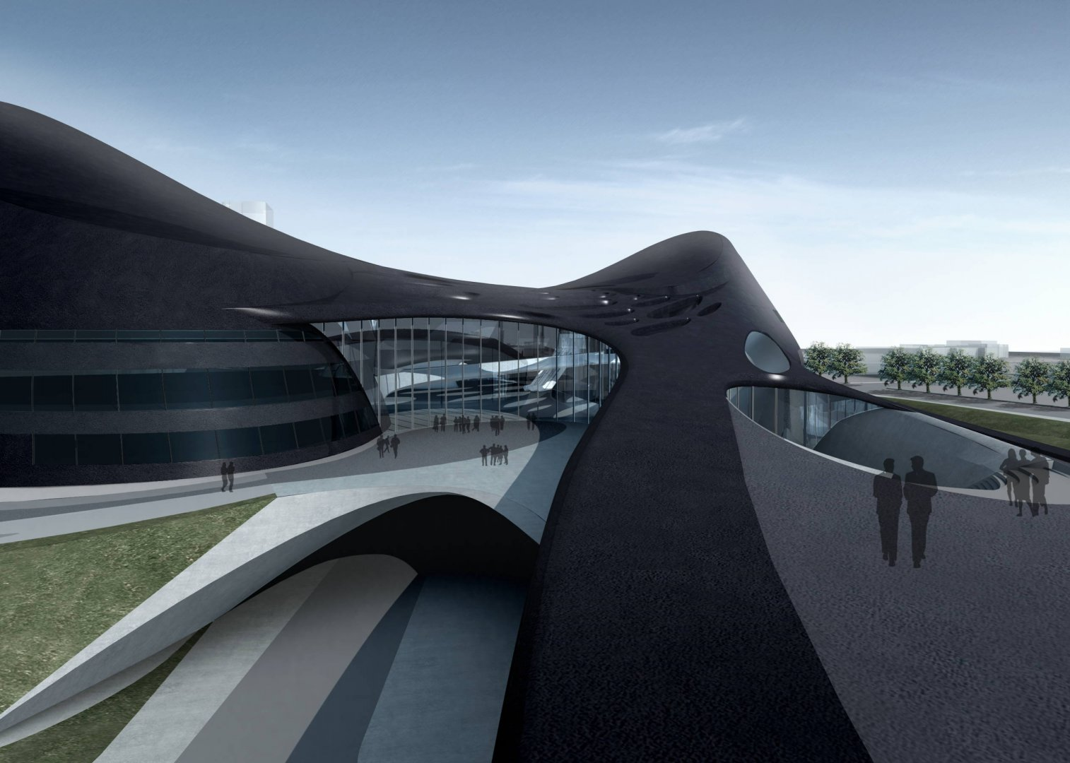 Modern cabinet architecture taichung metropolitan opera for Architecture zaha hadid