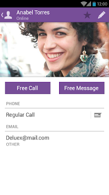 Viber free app for chatting and free calls