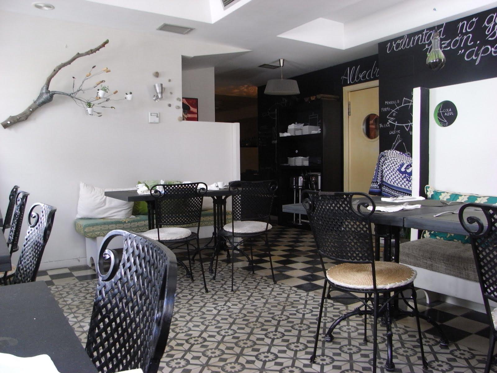 El blog de menycia restaurante albedr o - Decoracion cafeterias modernas ...