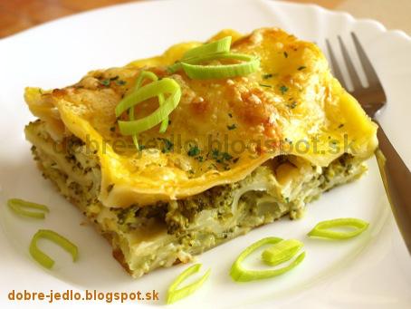 Lazane s brokolicou - recepty