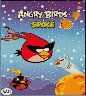 Selimut My Dream Anak - Angry Birds Space http://www.grosirsprei-murah.com/
