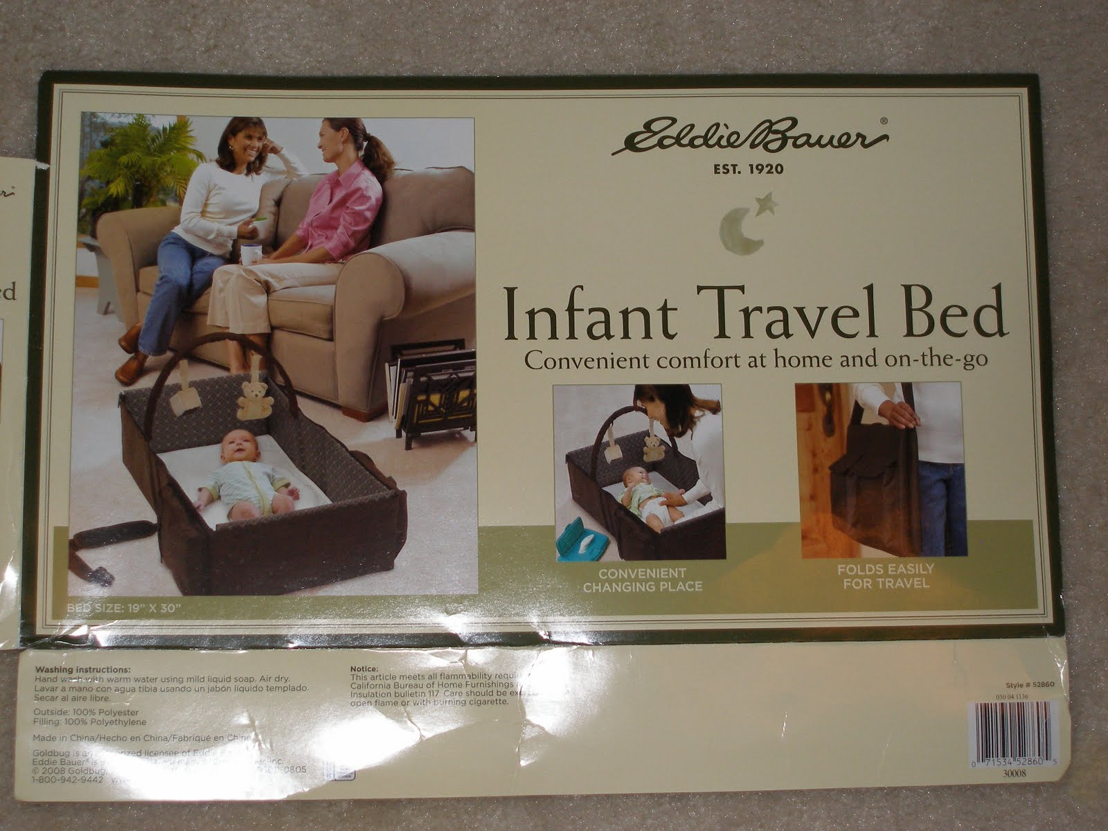 The Tourist Baby: Travel with Kids Product Review: Eddie Bauer
