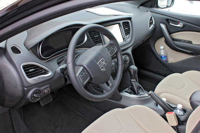 2013 Dodge Dart Limited Interior