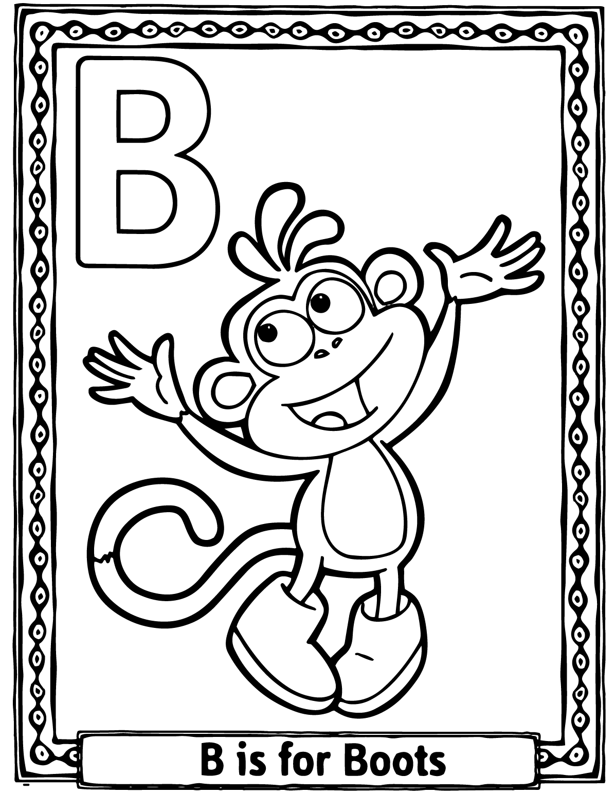 illuminated alphabet coloring pages free - photo#15