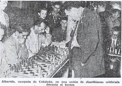 Crónica de Fernando Isaac Fernández en el diario Madrid sobre el III Torneo Nacional de Ajedrez de La Pobla de Lillet 1957 (2)