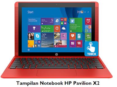 Harga Notebook HP Pavilion X2 terbaru