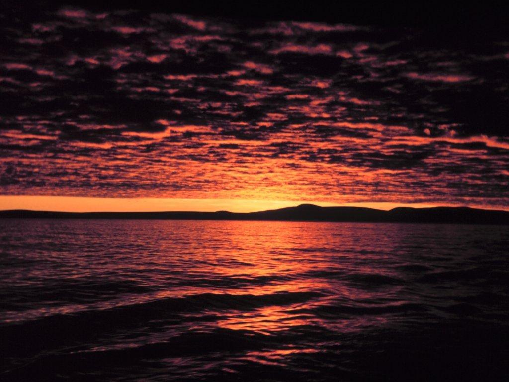 FULL WALLPAPER: Sunset...
