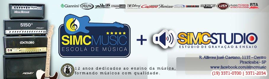 SIMC Escola de Música e Studio de Gravação/Ensaio