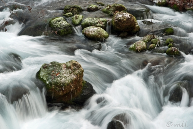 White Water and Green Rocks