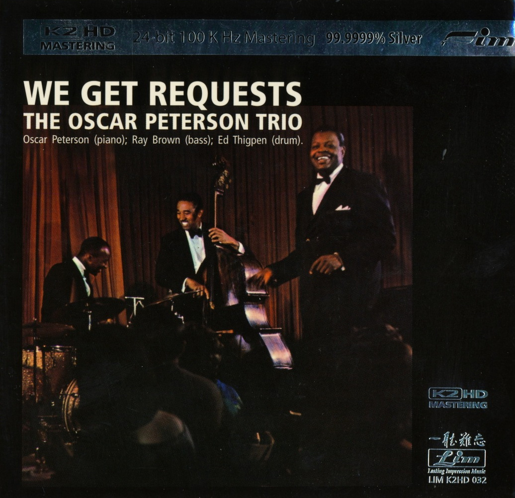 Home Of Jazz Oscar Peterson Trio We Get Requests 2009