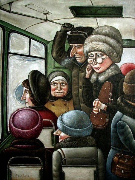 СССР на картинах Анжелы Джерих