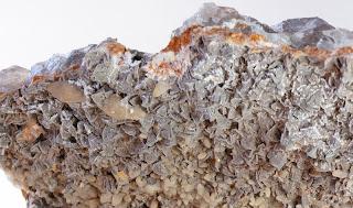 cristaux de sidérite et calcite