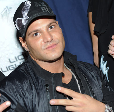 ronnie off jersey shore. Ronnie Magro attended the kick