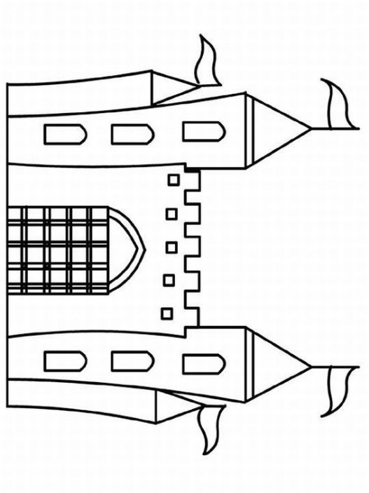 Castles Coloring Pages | Learn To Coloring