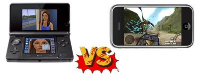 "3ds-vs-iphone Segundo acionistas e investidores, os celulares estão ""roubando"" o mercado do 3DS"