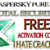 Kaspersky PURE 3.0 Total Security Key For 2 Months (Trial) Only For Indians
