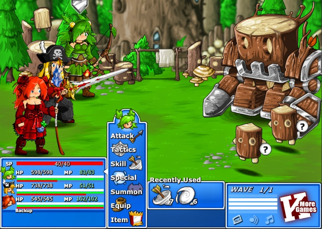 The Mighty Oak, lord of Ashwood Forest - and your first legit boss battle.