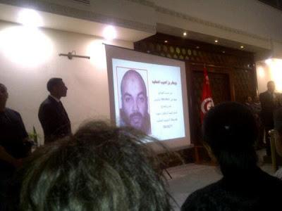 Diffusion d'une photo du suspect impliqué dans la mort de Mohamed Brahmi