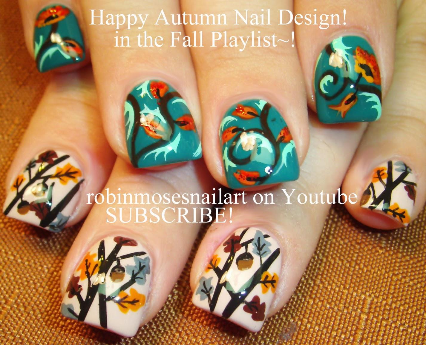 Fall Nail Designs Tutorials Nail Art Tutorials Fall Nail