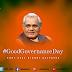 December 25 - Good Governance Day..!
