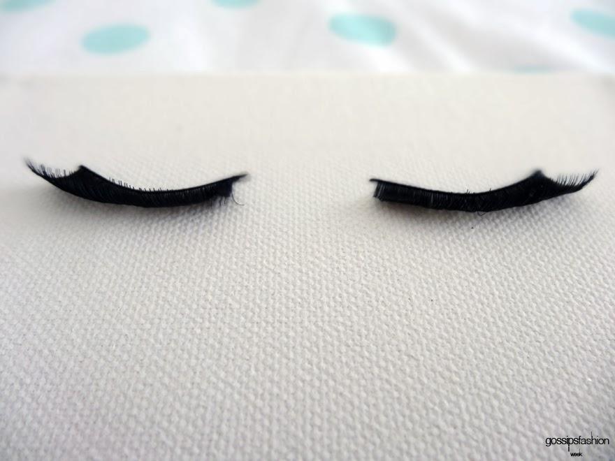 diy eyelash picture cuadro pestañas