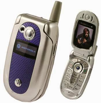 Motorola V500 Mobile Cell Phone