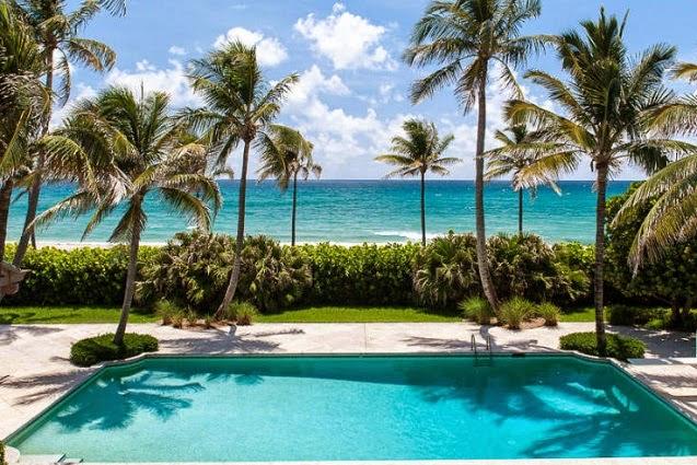 Palm beach homes for sale - Palm beach swimming pool ...