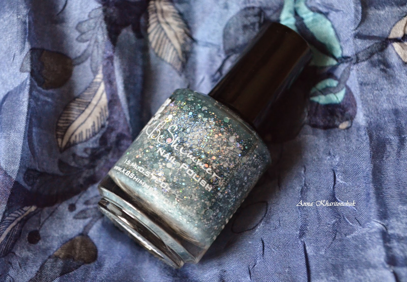 Winter11DNC. Любимый зимний лак. KBShimmer Will Yule Marry Me?