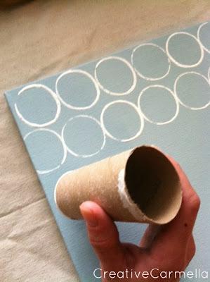 สิ่งประดิษฐ์จากแกนกระดาษชำระ –ตกแต่งกรอบรูปสวยๆ 3