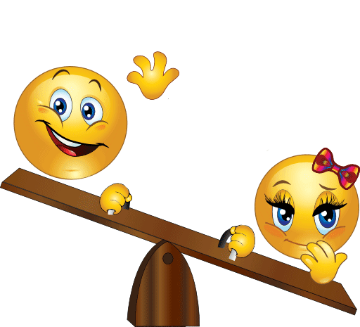 Teeter-Totter Smileys