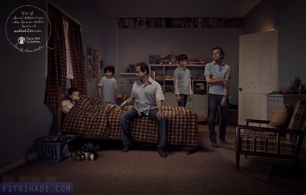 iklan penderaan mental kanak-kanak recycle
