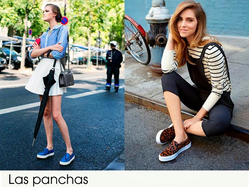 panchas zapatillas
