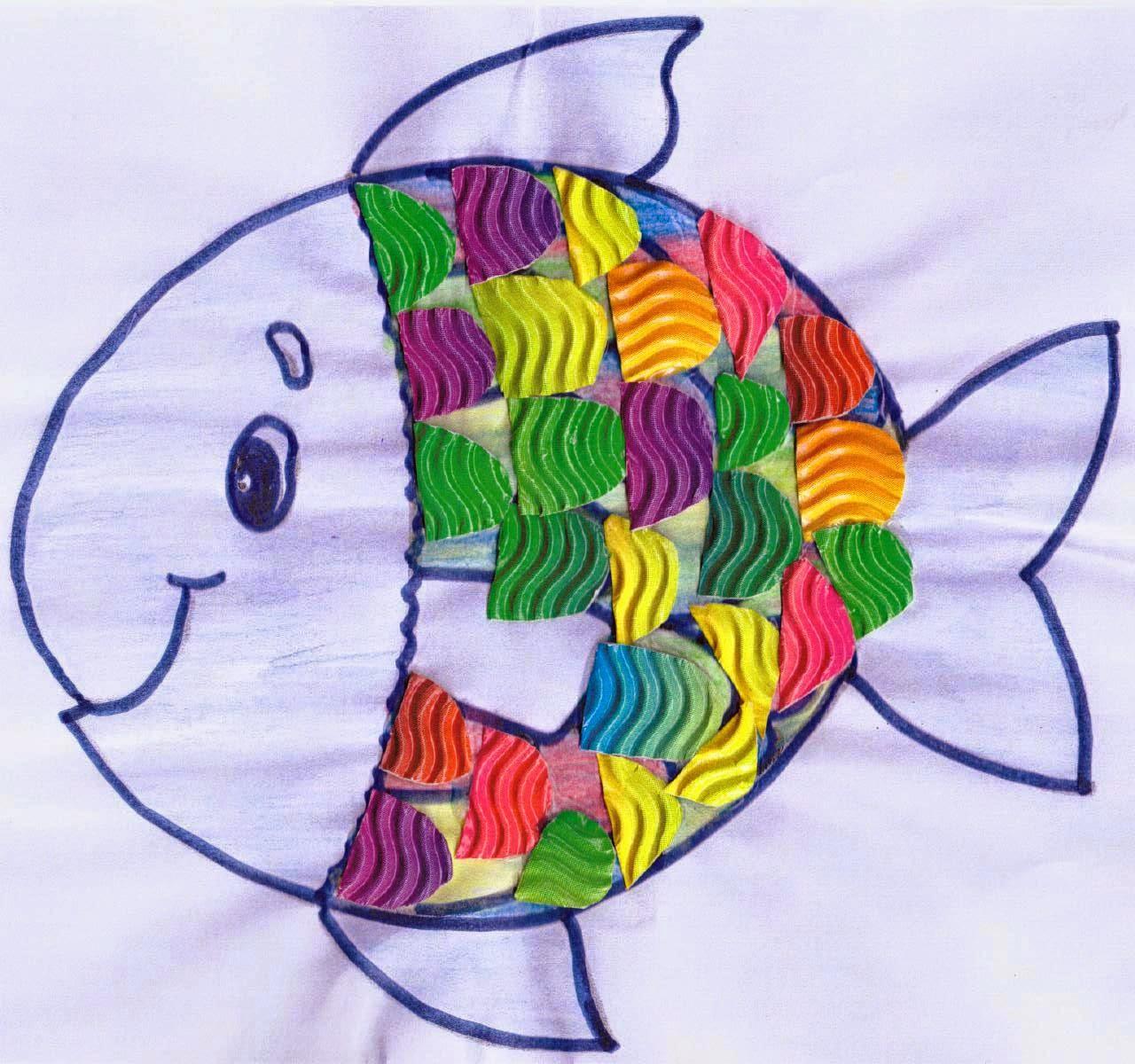 Esperienze per crescere armonicamente non uno scherzo for Disegni pesciolino arcobaleno