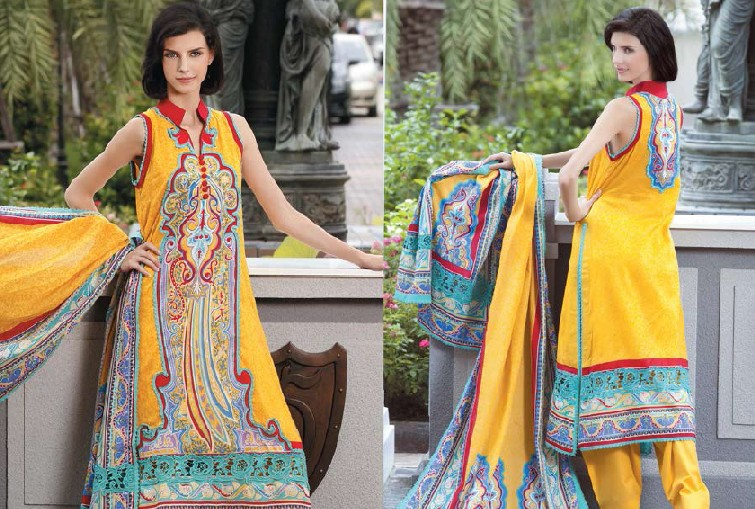Designer Lawn Suits Uk
