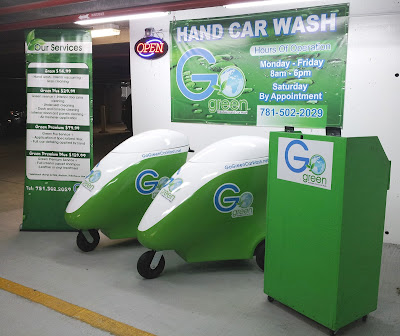 Go Green Waterless Car Wash