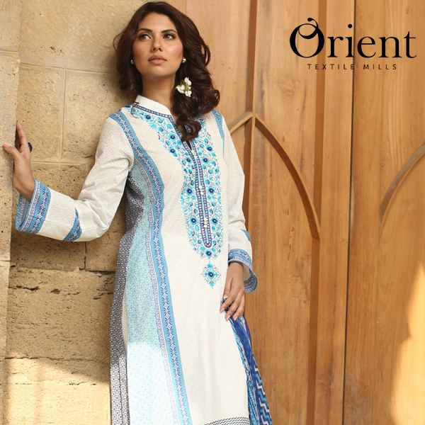 Orient Textiles Summer Lawn Dress