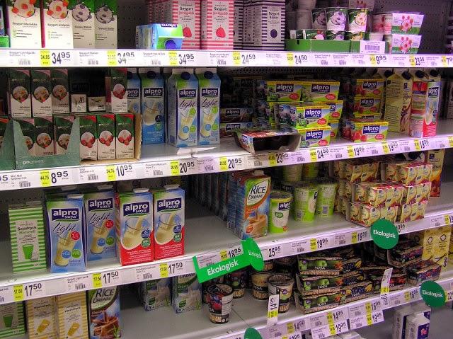 Sweden -- Milk varieties