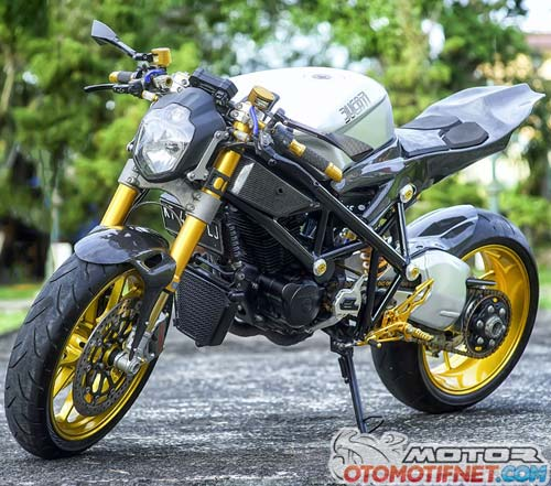 Modifikasi Honda Tiger The Beast