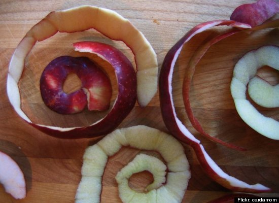A word from aunt b news of the day - Practical uses for the apple peels ...