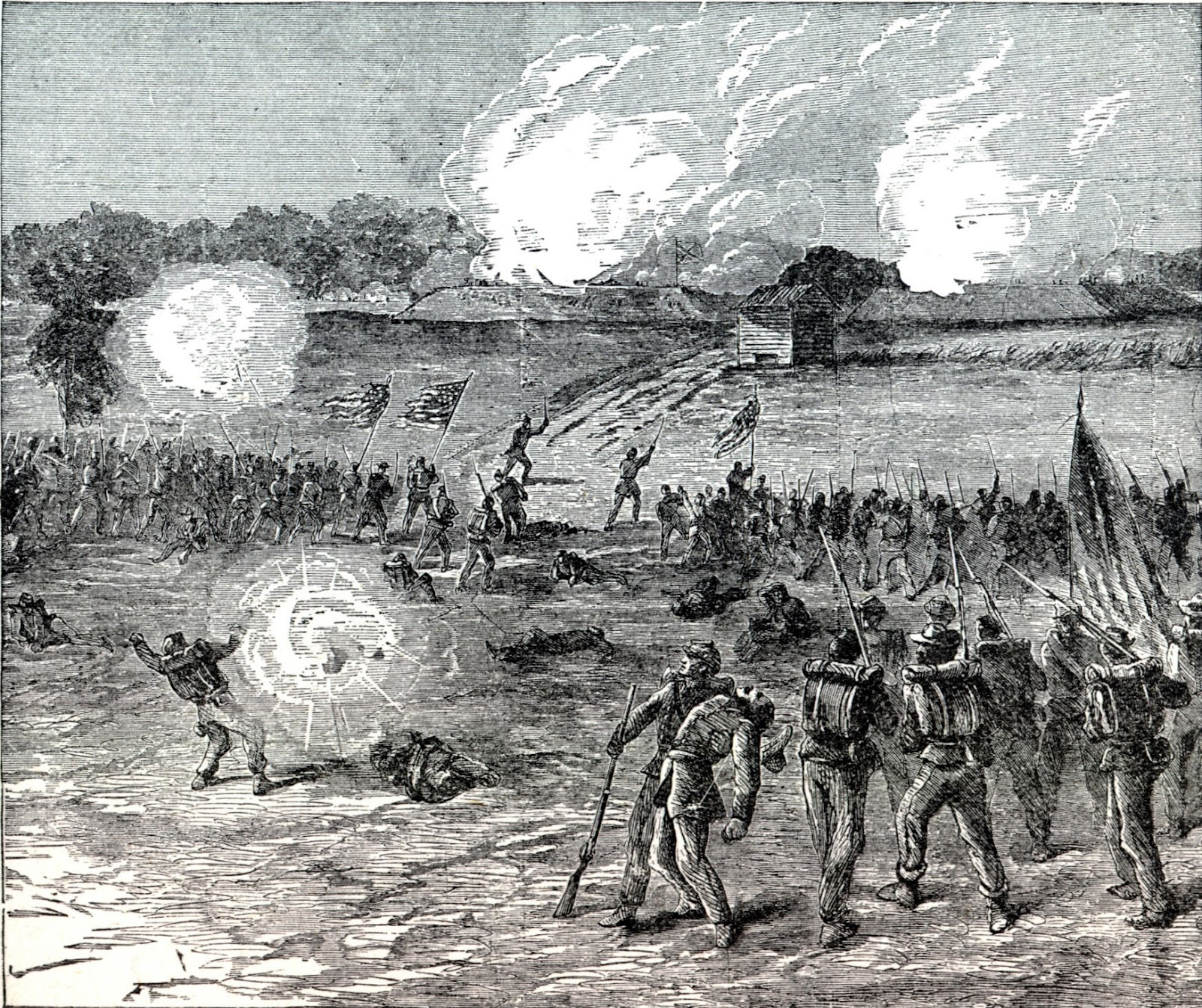 Civil War Blog Siege Of Petersburg Virginia November