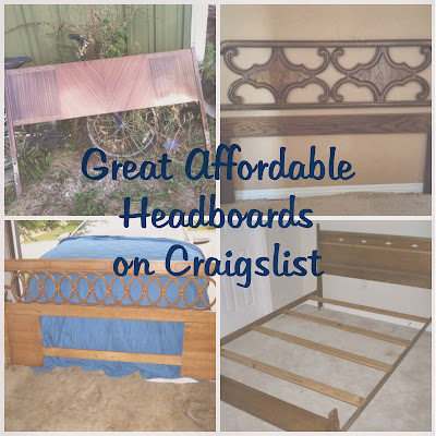 How to use Craigslist to find affordable headboards