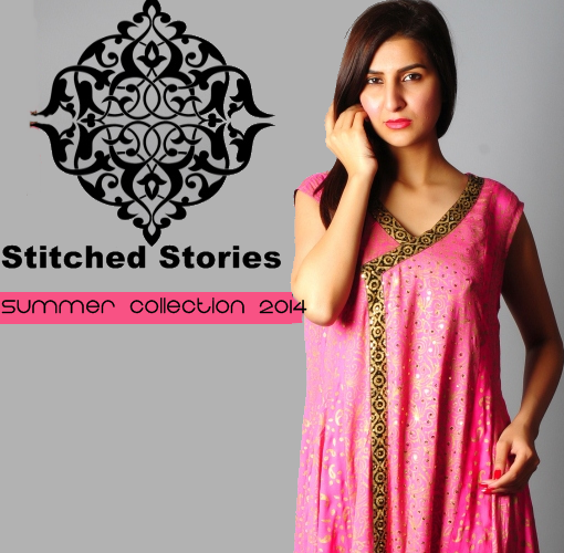 Stitched Stories Summer Collection'14