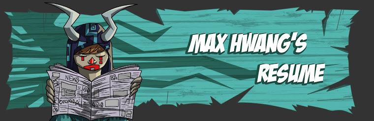 Max Hwang's Resume