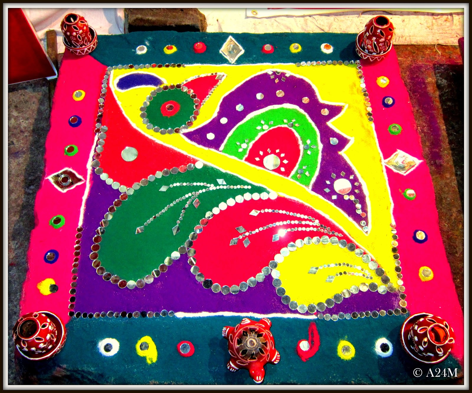 Rangoli Designs For Competition With Concepts Colourful rangoli designs