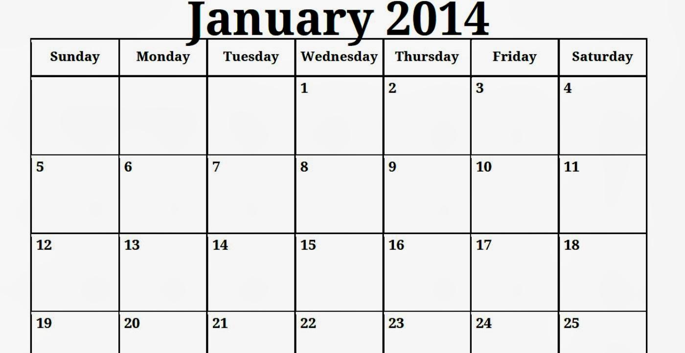 Blank Monthly Calendar Template Pdf : All blank calendar