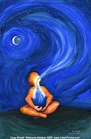 Yoga and Meditation Deep-breath