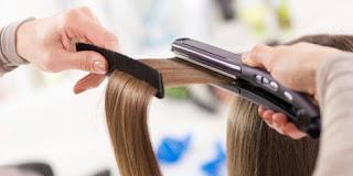 Cara Pakai Catok Agar Rambut Tidak Rusak