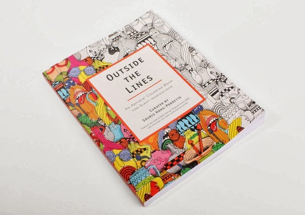 moodLKI: outside the lines - coloring book for creatives of all ages