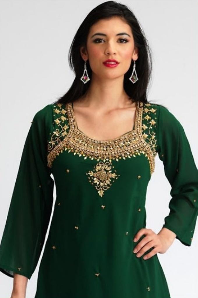 Designer Salwar Kameez Neck Designs top class salwar kamee...